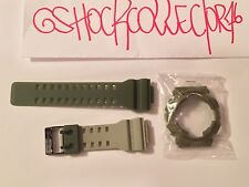 CASIO G SHOCK X PLAYSET  COLLABORATION GD-100PS-3 ARMY GREEN BAND & BEZEL SET