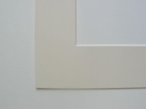 Pack de 20 ivoire 8x8 pouces montures photo