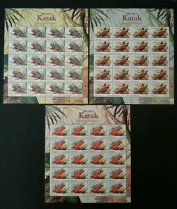SJ-rogs-Of-Malaysia-2007-Animal-Amphibians-Fauna-sheetlet-MNH