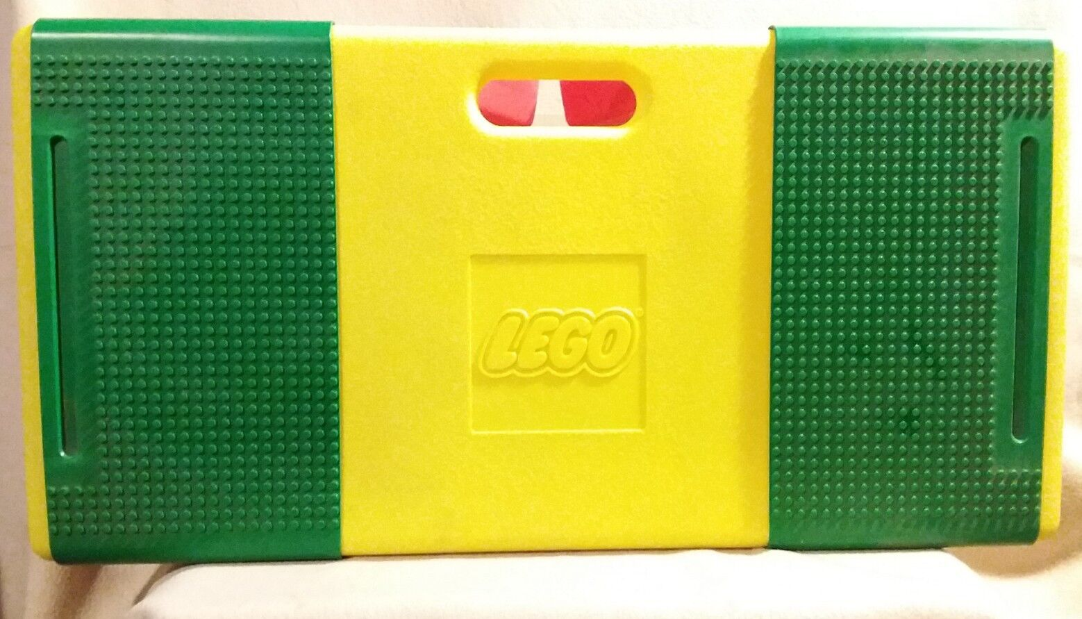 LEGO  Portable Lap Table with Lego's by Lego Toys 1994 Vintage