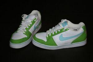 5cdc8ec946 NEW NIKE RUCKUS LOW JR 6.0 Green White & Light Blue Size 5 Youth ...