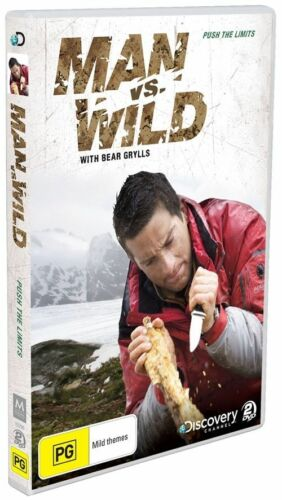 1 of 1 - Man Vs Wild - Push The Limits : Season 1 : (2-Disc Set)-VERY GOOD CONDITION R4