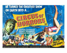 Circus of Horrors poster photo - H7888 - Yvonne Monlaur and Yvonne Romain