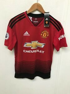 64bb3682fc0 Manchester United Kid s adidas 18 19 Home Shirt - 13-14 Years ...