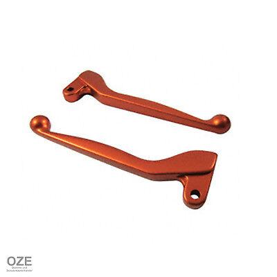 SIMSON Set: Handhebel S53 Aluminium massiv Simson S50 Orange SR50 KR51//2 Schwalbe S51 Brems- und Kupplungshebel