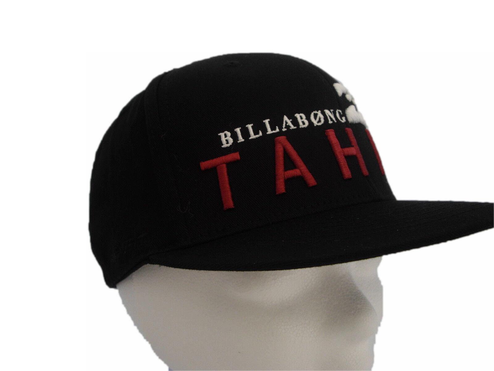 Billabong Herren Cap Mütze TAHITI CAP black Gr. U (G5CP02)K3006