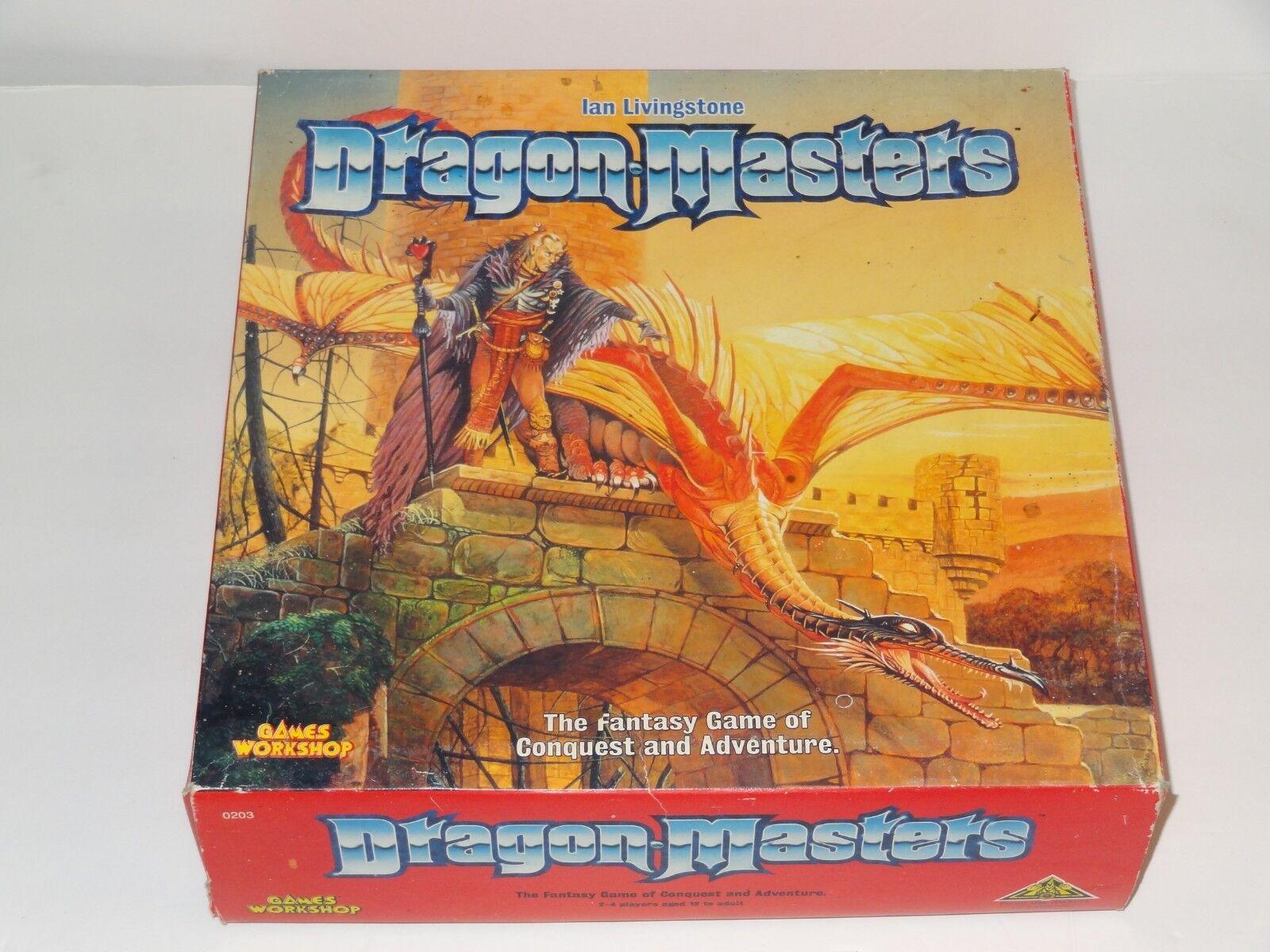 Dragon maestros Ian Livingstone Juegos Workshop 1991