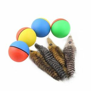 Color-Random-Interactive-Moving-Beaver-Ball-Self-Rolling-Pet-Chaser-Cat-Toy