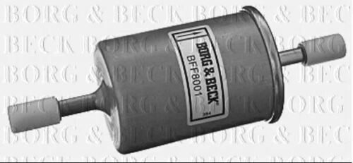 BORG /& BECK FUEL FILTER FOR OPEL CORSA PETROL ENGINE 1.4 66KW
