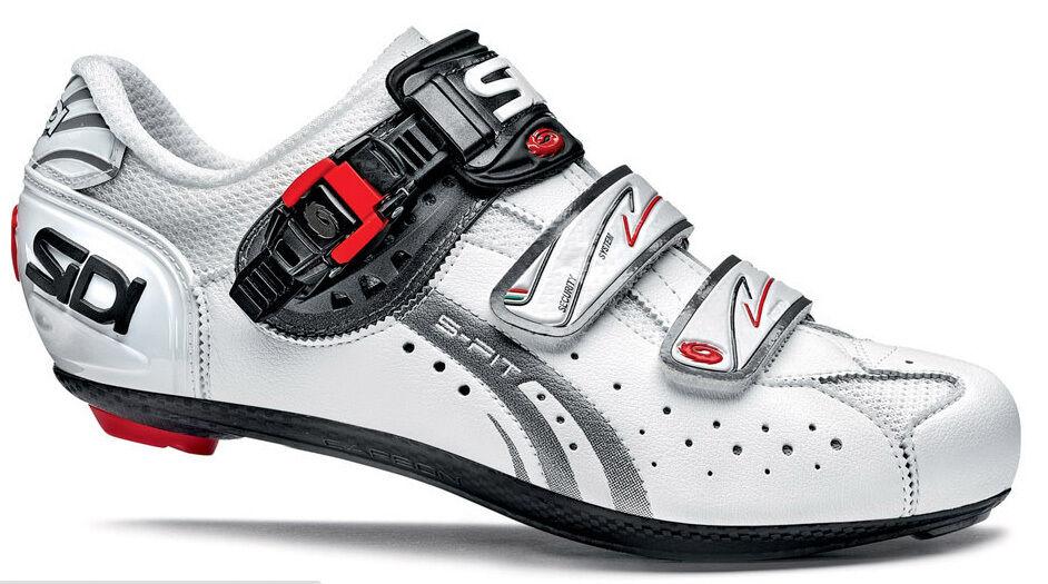 New Sidi Genius 5 Fit Mega(Wide) Cycling Schuhes, Schuhes, Cycling Weiß Weiß, EU41-46 de73a8