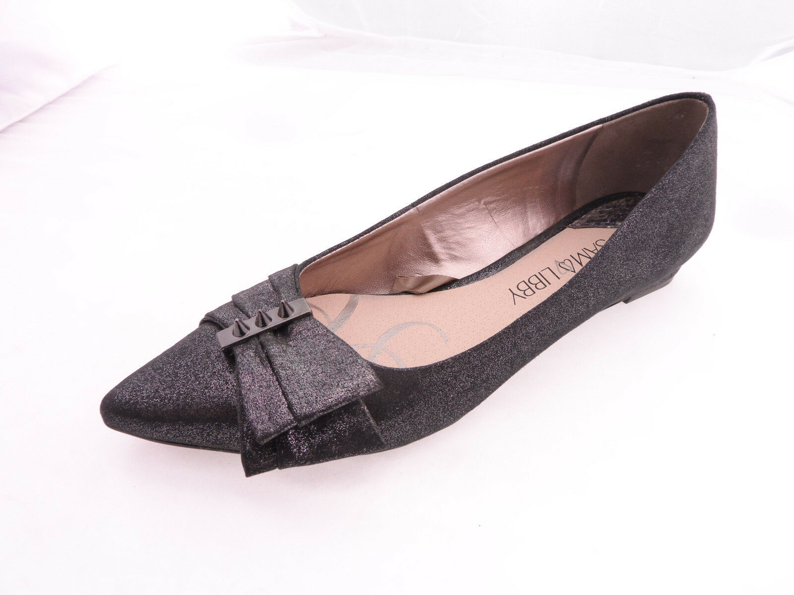 Sam And Libby Flats Women Pointy toe Gumetal Isabel 10M