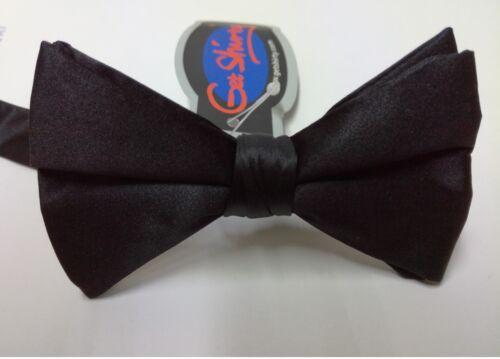 CLEARENCE !! New Black Silk Bow Tie Evening Dress Wear !