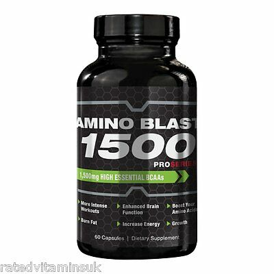ProSeries Branched Chain Amino Acids BCAA 1500mg Strength Power Gains 60 Capsule