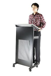Lectern Podium Portable Lecture Stand And Presentation Stand Ebay