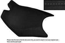 DESIGN 3 GRIP VINYL GREY STITCH CUSTOM FITS KTM RC8 FRONT RIDER SEAT COVER