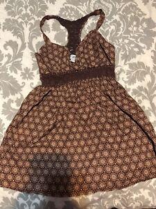 Cute-brown-women-s-L-E-I-ladies-Summer-tank-top