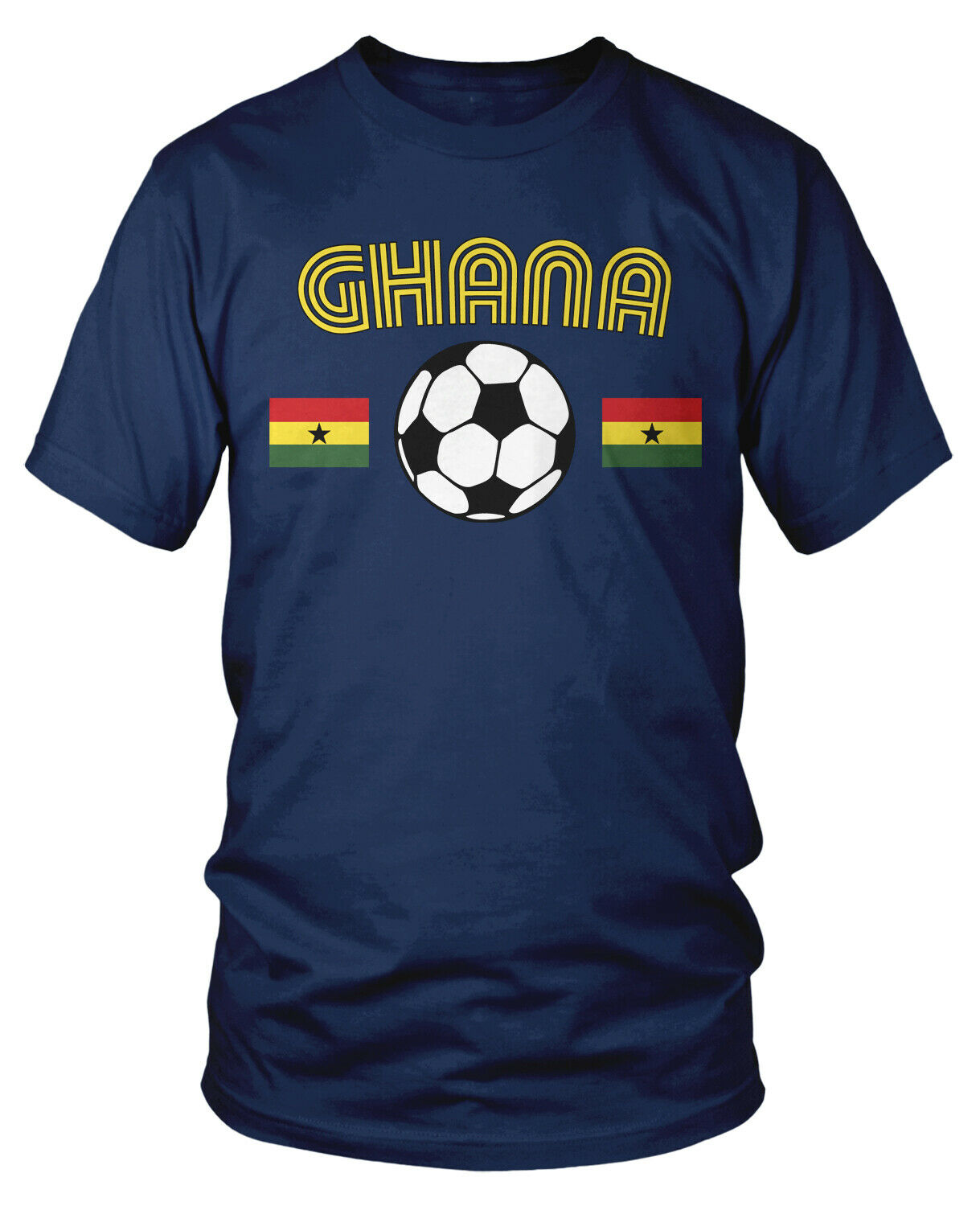 Ghana National Soccer Team The Black Stars Football Africa Long Sleeve Thermal