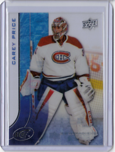 CAREY-PRICE-15-16-Upper-Deck-Ice-Acetate-Card-71-Montreal-Canadiens-Base-MINT