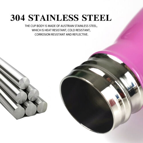 BY-Bottle 6 Color 500ml Water Bottle Stainless Steel Keep Double-Wall Cold Long
