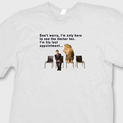 Cecil Dentist Doctor Last Appointment Funny T-shirt Lion Hoodie Sweatshirt