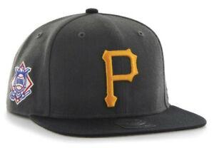 PITTSBURGH-PIRATES-MLB-FLAT-BILL-SURE-SHOT-039-47-CAPTAIN-SNAPBACK-CAP-HAT-NEW