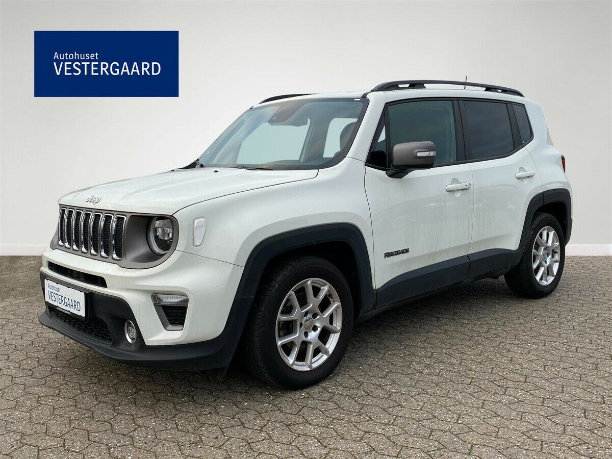 Jeep Renegade 1,3 T 150 Limited First Editon DCT 5d - 249.790 kr.