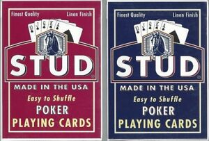12-DECKS-Stud-brand-poker-playing-cards
