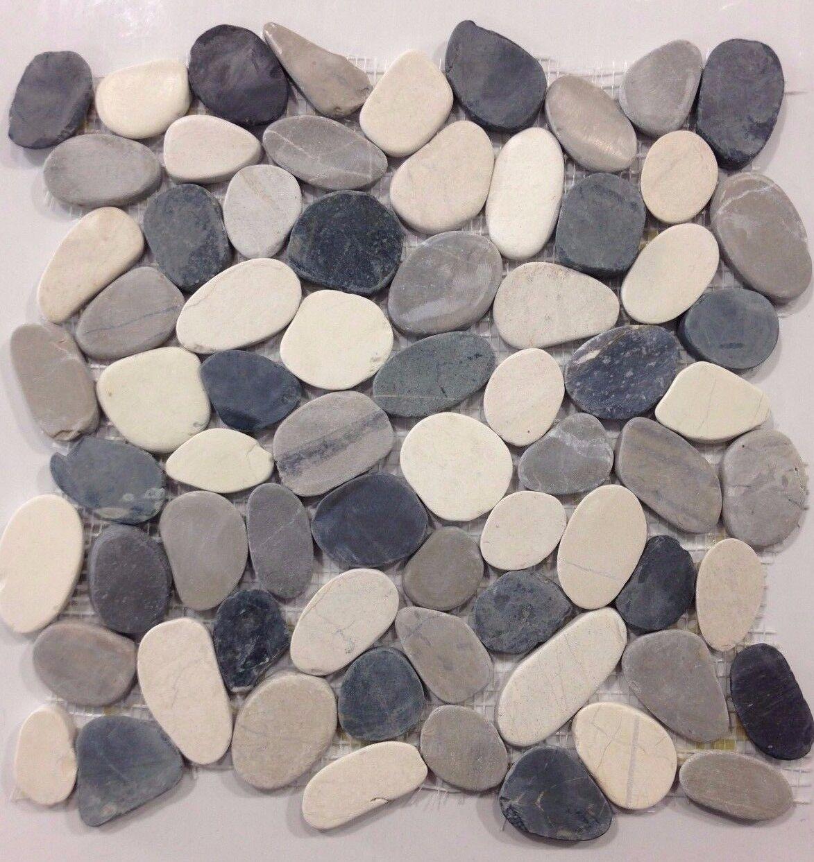 Pebble Stone Tile Valencia Cool Blend