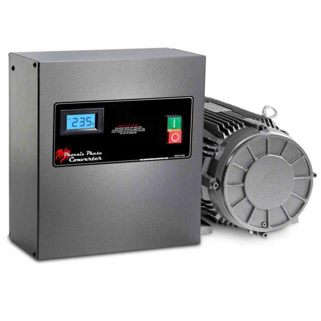 10 HP Rotary Phase Converter