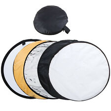 "43"" 110CM 5-in-1 Photography Studio Multi Disc Photo Collapsible Light Reflector"