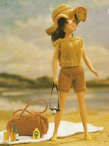 KNITTING PATTERN SINDY / BARBIE DOLL HOLIDAY CLOTHES ...