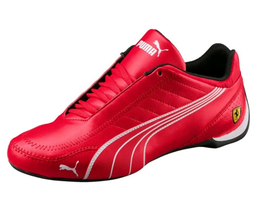 NIB MEN'S 12 PUMA FERRARI SF FUTURE CAT KART RED MOTORSPORT RACING SNEAKER SHOE