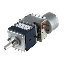 ALPS RK27112MC Potentiometer 50K logarithmisch mit Motor stereo RK27 Das Blaue