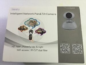 Camera-Security-Intelligent-Network-Pan-amp-Tilt-Camera-Include-one-alarm-panel