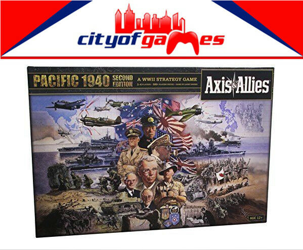 Axis & Allies Pacific 1940 Revised  Board Game  Brand nouveau  site officiel