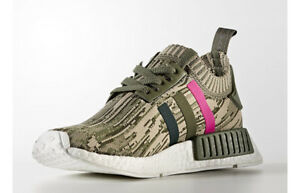 7a9cce73ae23e WOMEN S ADIDAS ORIGINAL NMD R1 PRIMEKNIT CAMOUFLAGE TRAINER BY9864 ...