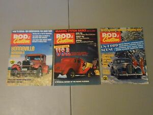 LOT-OF-3-1970S-ROD-CUSTOM-MAGAZINES-BONNEVILLE-NATIONALS-CHEVY-MOTORS-MAGS