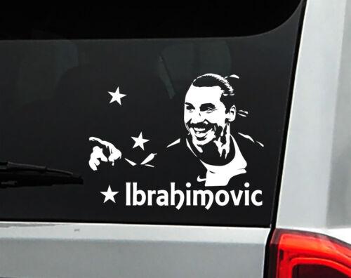 "Zlatan Ibrahimovic Soccer World Star Vinyl Car Decal Sticker 6.5/"" W"