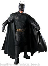 BATMAN Grand Heritage Costume Dark Knight Collector Adult Cosplay Fancy Suit