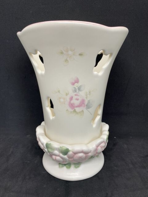 Pfaltzgraff Tea Rose Butterfly Tea Light Candle Holder CUTE EUC