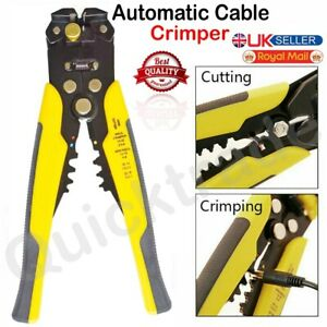 Automatic-Self-Adjustable-Cable-Wire-Crimper-Crimping-Cutter-Stripper-Plier-Tool