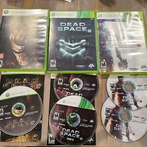Dead-Space-Trilogy-1-2-3-Microsoft-Xbox-360-Lot-of-Games-Electronic-Arts