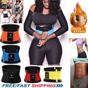 FAJAS-Women-039-s-Waist-Trainer-Trimmer-Sauna-Sweat-Sport-Belt-Slimming-Body-Shaper