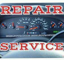 FORD E150 E250 E350 E450 INSTRUMENT CLUSTER REPAIR SERVICE 2004 TO 2008