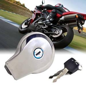 Motor Fuel Gas Tank Cap Cover Lock+Key fits Yamaha Virago XV125 250 Vstar XV250
