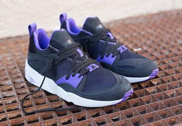 PUMA Blaze Of Glory Trinomic Mens Black Sneakers size 11