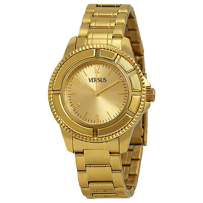 Versus by Versace Tokyo Gold Dial Gold Ion-plated Ladies Watch SH7040013