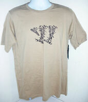 Warrior Lax Stick Fight Short Sleeve Tee, Khaki, Large