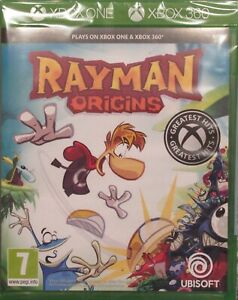 Rayman-Origins-For-PAL-XBox-360-amp-Xbox-One-New-amp-Sealed