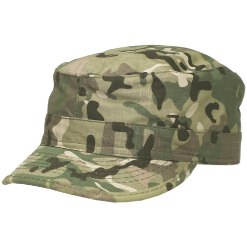 MFH US ARMY FIELD PATROL CAP MILITARY COMBAT COTTON RIPSTOP HAT OPERATION CAMO